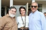 Flávio Wernek, Renata Amaral e Eliton Brandão - Foto: Alan Santos
