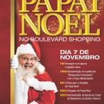 Papai Noel desembarca no Boulevard Shopping no próximo Sábado