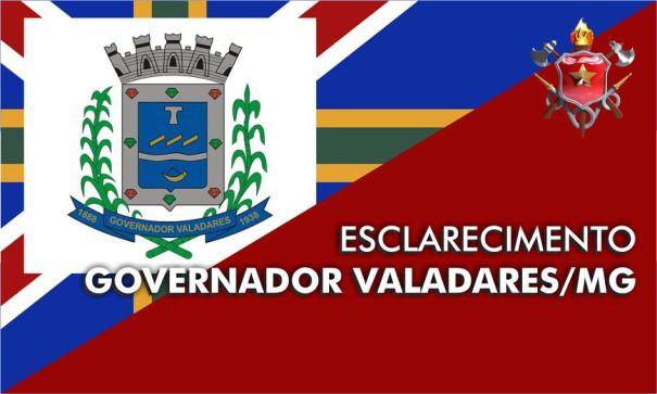 Ajuda humanitária a Cidade de Governador Valadares – Minas Gerais