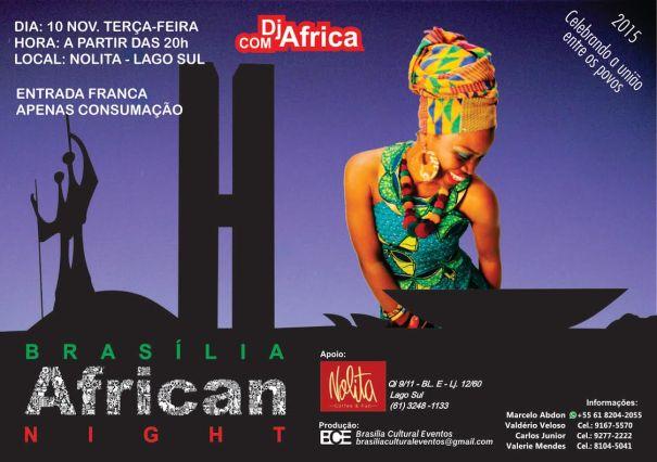 Brasília African Night retorna com a sua segunda edição