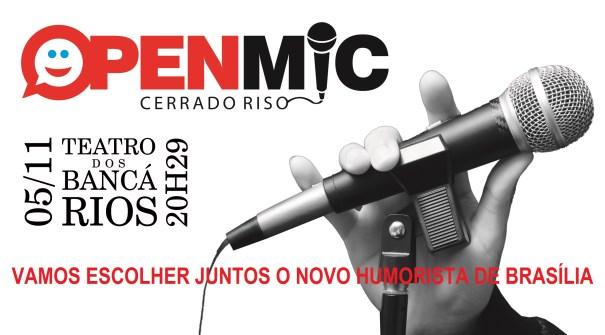 Open Mic - Brasília : Em busca do novo humorista de Brasilia