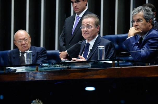 Renan Calheiros declarou que somente no futuro será possível avaliar o que esta decisão significará para o Legislativo - Foto: Marcos Oliveira/Agência Senado