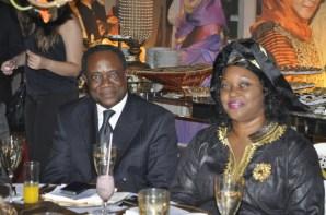 S.E. Embaixador e Sra Embaixatriz de Camarões