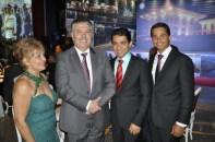 Jornalista Luzia Câmara, Sr. Embaixador da Tunísia, Empresário da construção Civil de Teixeira de Freitas da BA, Sérgio Guimarães, Gilmar Junior Guimarães