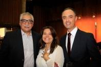 Luiz Carlos Azedo, Andrea Fassina e Rinaldo de Oliveira
