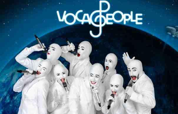 Voca People está de volta ao Brasil