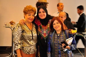 Luzia Câmara, Sra Sohair Elqataa, jornalista Liz Elaine - Foto: Alisson Carvalho