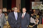 Carlos Viera Jr, Chefe do Cerimonial da CLDF, Sr. Nobert Konkoly, Embaixador da Embaixada da Hungria