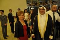 Luzia Câmara, Sr. Ayadah Mubrad Alsaidi, Embaixador do Kuwait