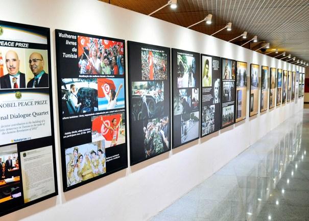 Exposição Brasil encontra a Tunísia