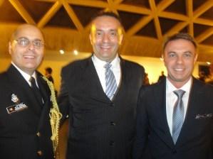 Adido Militar Capitão, Real Brisson, William Benthon, S.E.Sr. Norbert Konkoly, Embaixador da Hungria