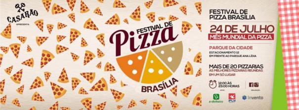 Festival de Pizza Brasília Domingo no Parque da Cidade