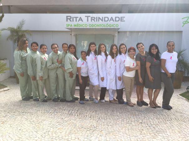 O Spa Rita Trindade está apoiando o Outubro Rosa