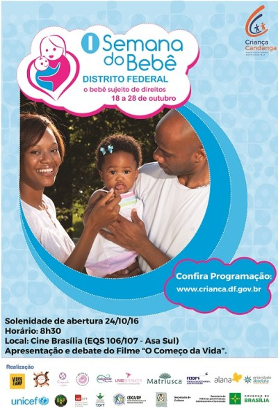 Semana do bebê debate direitos da primeira infância - Foto: Ascom Criança/GDF