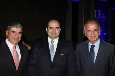 Miguel Jabour, Julio De La Guardia e Min. José Múcio Monteiro