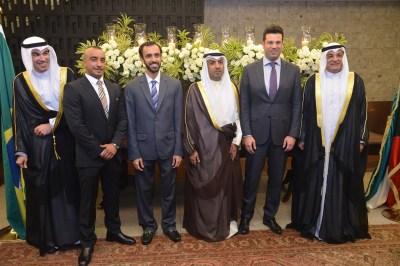 Embaixador do Estado de Kuwait, Ayadah M. Alsaidi, Ministro dos Esportes, Sr. Leonardo Picciani