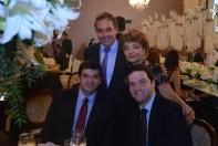 Marco Vendramini, Bruno Sadeck, Rafael de Sá Andrade e Luzia Câmara do portal Guia BSB.net