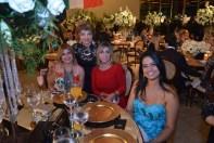 Wilma Magalhães, Isabel Almeida, Luzia Câmara e amiga