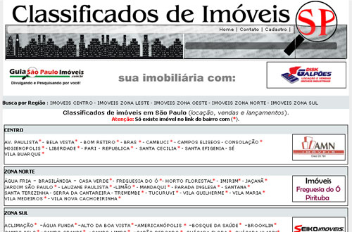 classificados de imoveis sp