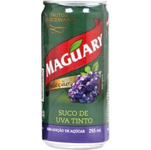 Maguary apresenta o suco de uva em lata