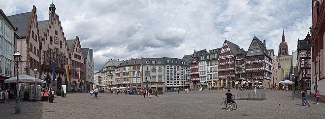 Römerberg (Frankfurt) - Guia de Alemania