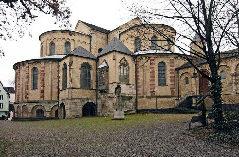 Iglesia de Santa María del Capitolio (Colonia) - Guia de Alemania