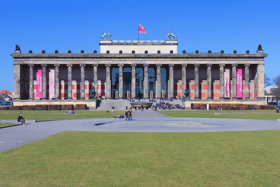 Museo Antiguo de Berlín (Altes Museum) - Guia de Alemania