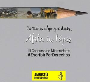 concurso microrrelatos amnistia internacional