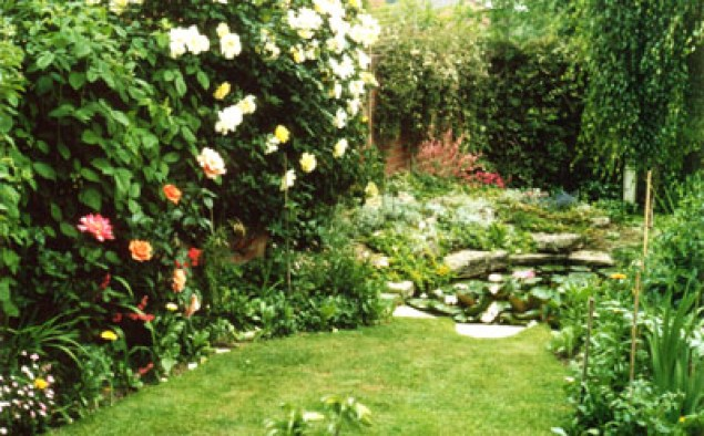 Giardino in versione romantica