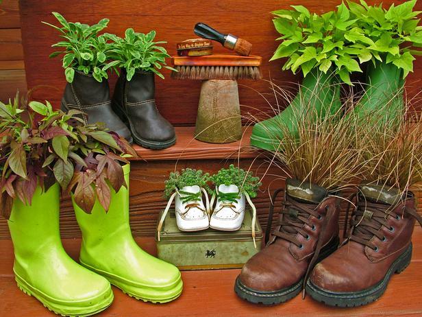10 e pi modi per creare arredi da giardino con oggetti di for Programmi per progettare oggetti