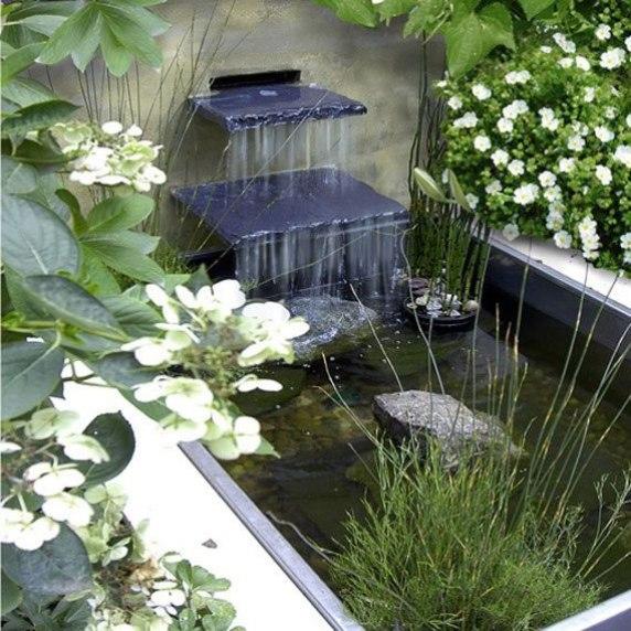 laghetto in giardino