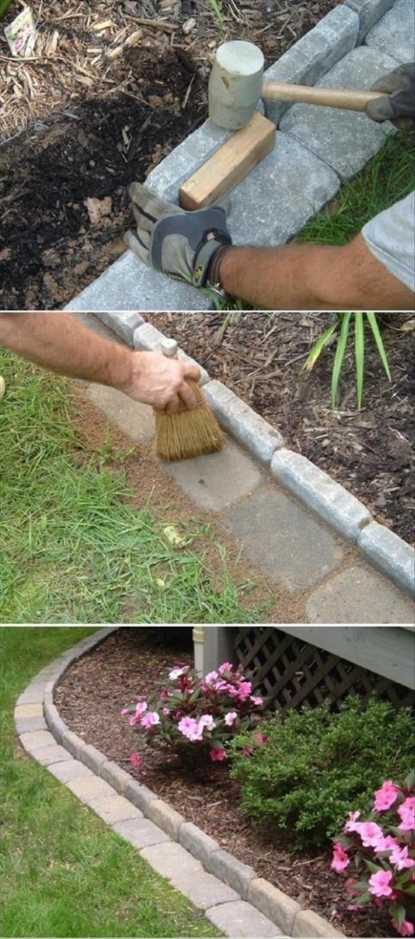 Come Dipingere Vecchie Tegole 10 idee per utilizzare i mattoni in giardino - guida giardino