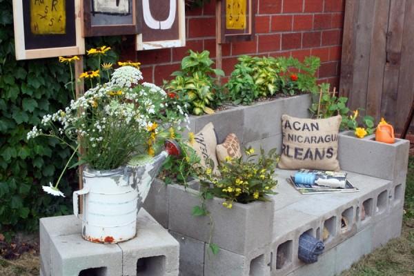 10 idee per utilizzare i mattoni in giardino guida giardino for Jardines ideas economicas