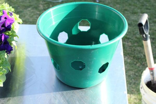 vaso per piante di piccole dimensioni