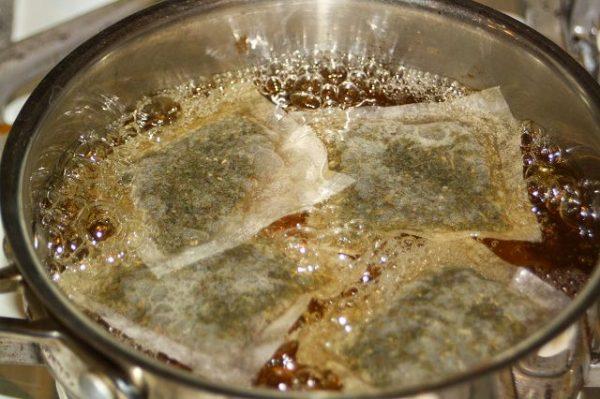 usi delle bustine di té nella cura del giardino