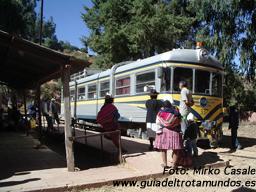 De Sucre a Potosí: ¿En bus, o mejor en tren? ¡En los dos! - 120307_ferrobus2
