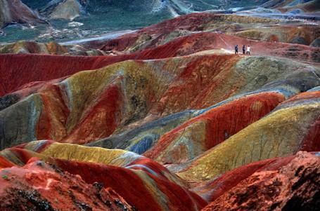 Lugares con encanto: las montañas Danxia