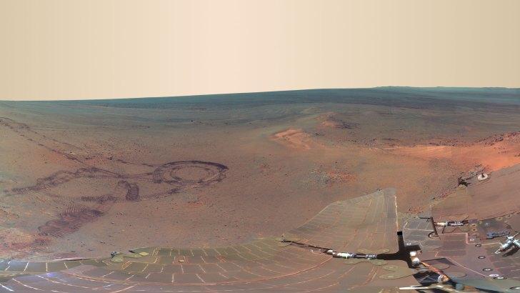 La última gran fotografía de Marte