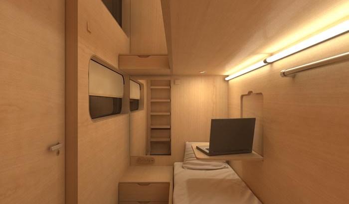 Sleepboxes, las habitaciones de hotel que encontrarás en los aeropuertos