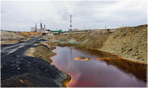 El lugar más contaminado del planeta es…