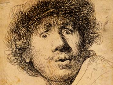 ¡La mitad de los grabados de Rembrandt no son suyos! - rembrant.n1