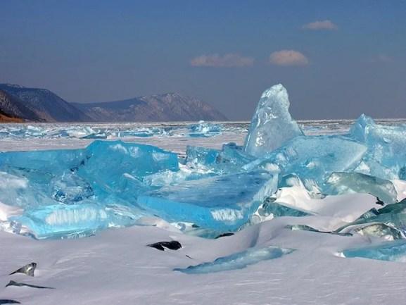 Hielo turquesa en RUSIA - ice41
