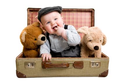 Los mejores sitios para viajar con bebés