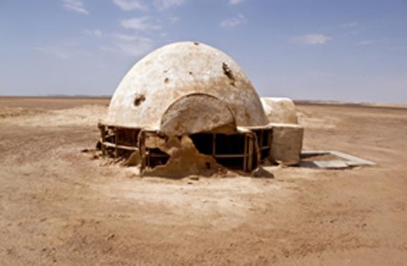 La casa de Luke Skywalker en el desierto de Túnez