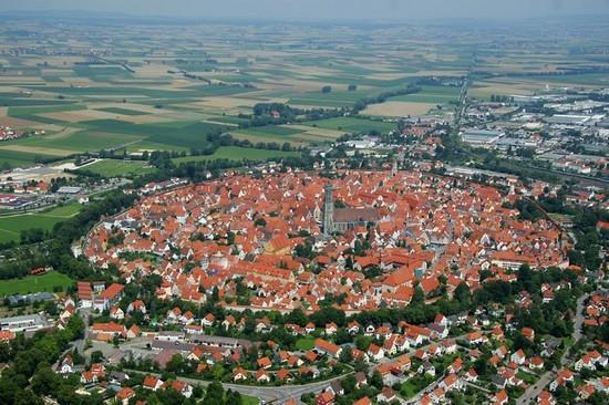 Nördlingen, una visita a un cuento de hadas