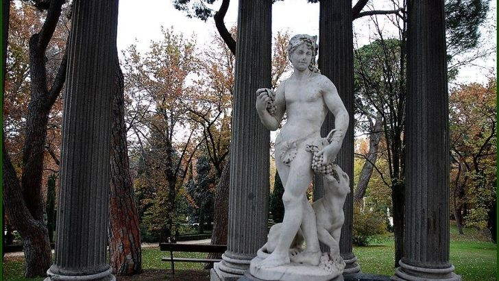Un capricho hablarles de un hermoso parque de Madrid