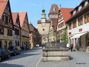 Rothenburg ob der Tauber (Alemania) - rothenburg-6-300x225