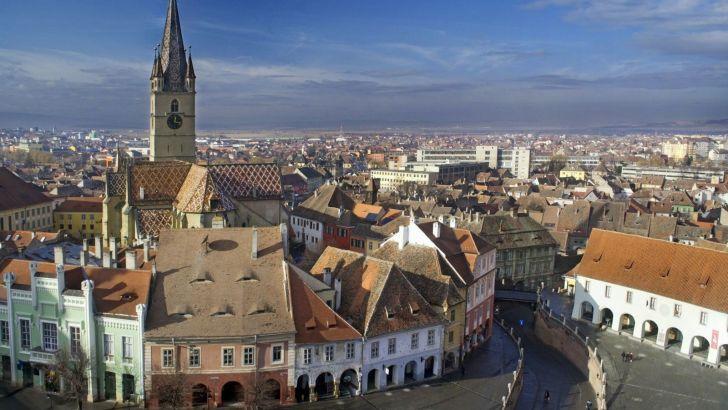 Sibiu, ciudad sajona en Transilvania