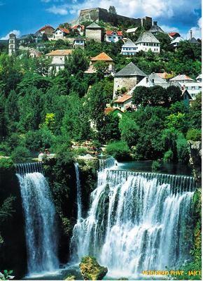 Jajce, ciudad histórica entre cascadas