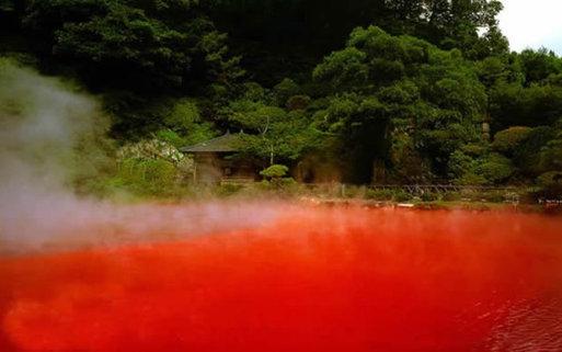 Los nueve infiernos de Beppu, Japón.